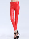 ByChicStyle Hot Patchwork Hollow Out Plain Mid-Rise Legging - Bychicstyle.com