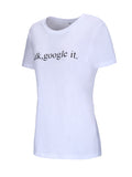 ByChicStyle Simple Letters Printed Round Neck Short Sleeve T-Shirt - Bychicstyle.com
