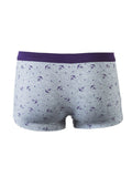 ByChicStyle Color Block Anchor Print Elastic Men's Underwear - Bychicstyle.com
