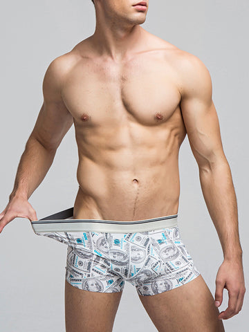 Fashion Printed Ventilated Men's Underwear - Bychicstyle.com