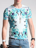 ByChicStyle Suitable Printed Round Neck T-Shirt - Bychicstyle.com