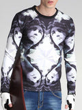 ByChicStyle Fashion Round Neck Statue Printed Men Sweatshirt - Bychicstyle.com