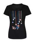 ByChicStyle Lovely Cartoon Printed Round Neck Short Sleeve T-Shirt - Bychicstyle.com