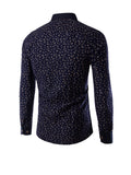 ByChicStyle Casual Allover Tiny Floral Printed Men Shirt