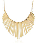 ByChicStyle Casual Bars Pendant Chain Necklace
