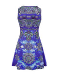 ByChicStyle Casual Distinctive Tribal Printed Round Neck Shift Dress