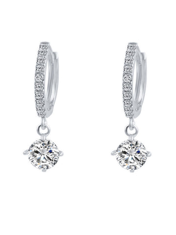 Casual Basic Alloly Rhinestone Earring