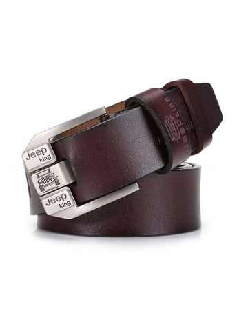 Mens Business Retro Leisure PU Leather Belt - Bychicstyle.com
