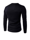 ByChicStyle Casual Round Neck Animal Printed Men Sweatshirt