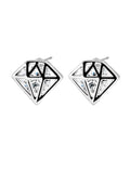 Streetstyle  Casual Basic Zircon Crystal Earring
