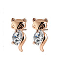 ByChicStyle Casual Alloy Cute Little Fox Earring