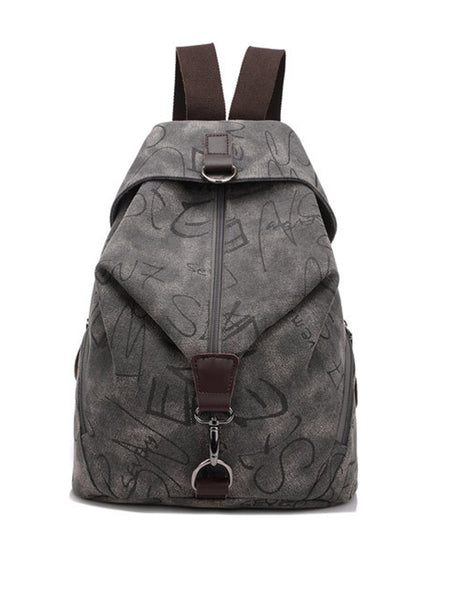 Men Women Multifunction Retro Canvas Large Capacity Durable Backpack - Bychicstyle.com