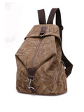 ByChicStyle Men Women Multifunction Retro Canvas Large Capacity Durable Backpack - Bychicstyle.com
