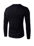 ByChicStyle Casual Abstract Print Casual Round Neck Men Sweatshirt