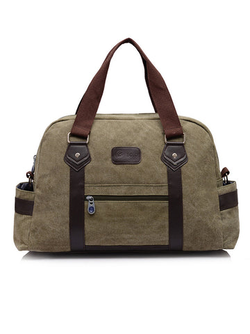Mens Retro Canvas Laptop Casual Multifunctional Handbag - Bychicstyle.com