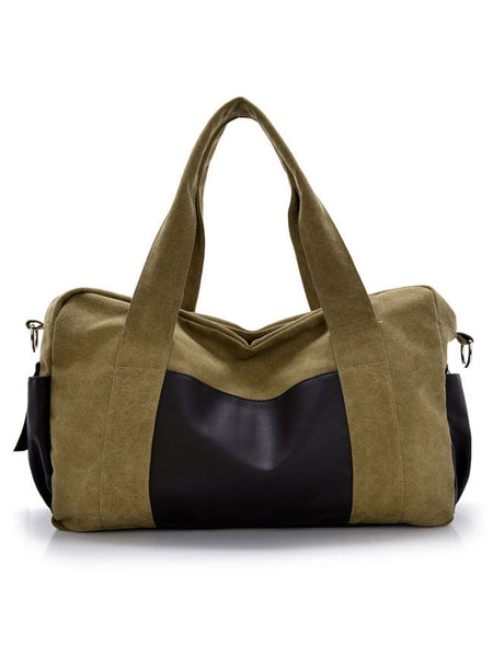 Mens Vintage Casual Canvas Handbag Crossbody Shoulder Bag - Bychicstyle.com