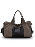 ByChicStyle Mens Vintage Casual Canvas Handbag Crossbody Shoulder Bag - Bychicstyle.com