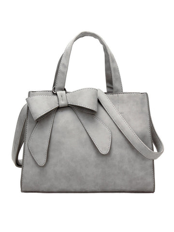 Bowknot Pu Shoulder Bag - Bychicstyle.com