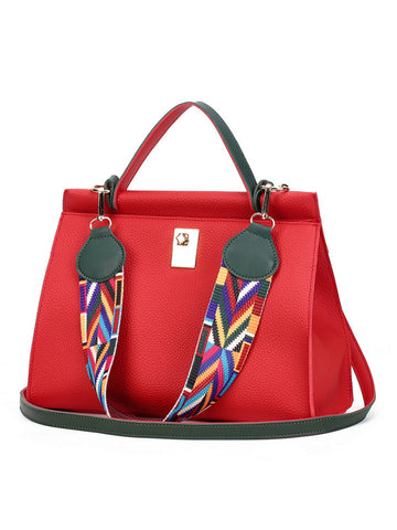Colorful Ribbon Two Ways Shoulder Bag - Bychicstyle.com