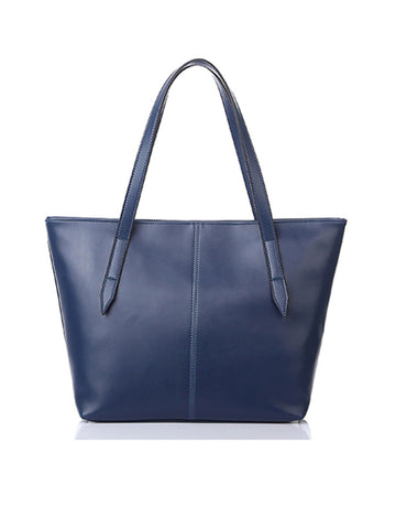Casual Basic Plain Pu Shoulder Bag