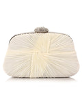 ByChicStyle Casual Pleated Design Evening Clutch Bag