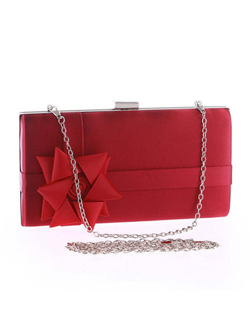 Casual Ribbon Floral Gift Evening Clutch Bag