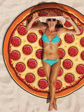 ByChicStyle Casual Pizza Sweet Fantasy Beach Blanket