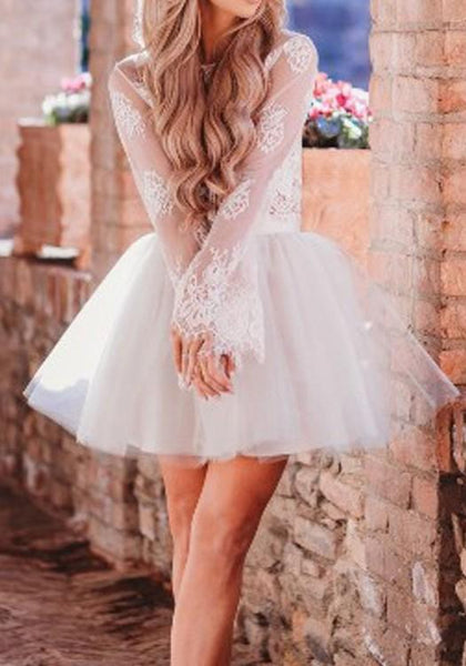 White Grenadine Fluffy Puffy Tulle Homecoming Party High Waisted Cute Skirt