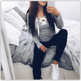 ByChicStyle Casual Spring New Women Fashion Sexy Long Sleeve Shirt Blouse Loose Top Casual T-shirt
