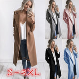 ByChicStyle 5 Colors Women Autumn Winter Long Sleeve Pockets Women Coat Casual Jackets Slim Overcoat Outwear