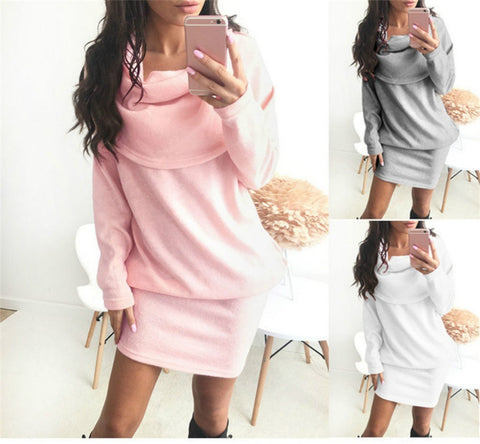 Fashion Explosion Party Dress Robe Popular Anti Collar Sweater