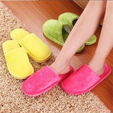 ByChicStyle Casual Warm For Woman Home House Floor Soft Plush Slippers