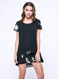 ByChicStyle Embroidery See Through Charming T-Shirt - Bychicstyle.com