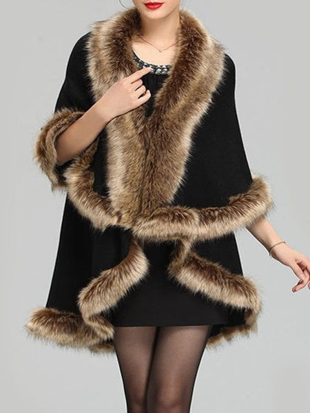 Casual Asymmetrical Hems Stunning Collarless Overcoats