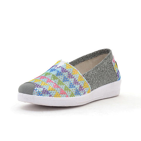 Casual Colorful Mesh Breathable Comfortable Casual Shoes