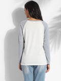 ByChicStyle Round Neck Cotton Letter Printed Long-sleeve-t-shirt - Bychicstyle.com