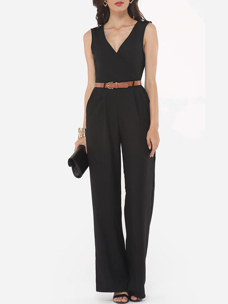 Casual Plain Charming Jumpsuits
