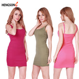 ByChicStyle Fashion Women Sexy Backless Basic Dresses Sleeveless Slim Vestidos Vest Tanks Bodycon Dress Strap Solid Party Dress NQ657420