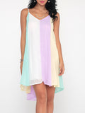 ByChicStyle Gradient Charming Spaghetti Strap Shift Dress - Bychicstyle.com