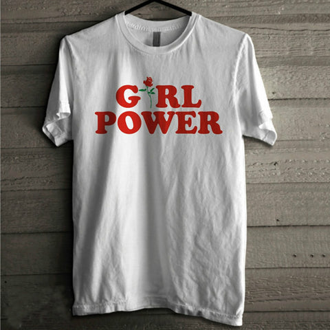 Casual Girl Power Tshirt, Feminism Tee Girl Power Shirt 100% Unisex Cotton T-shirt