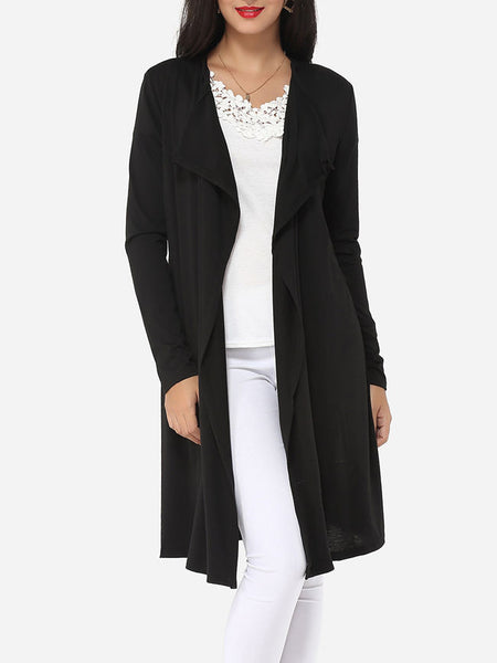 Plain Modern Cardigan - Bychicstyle.com