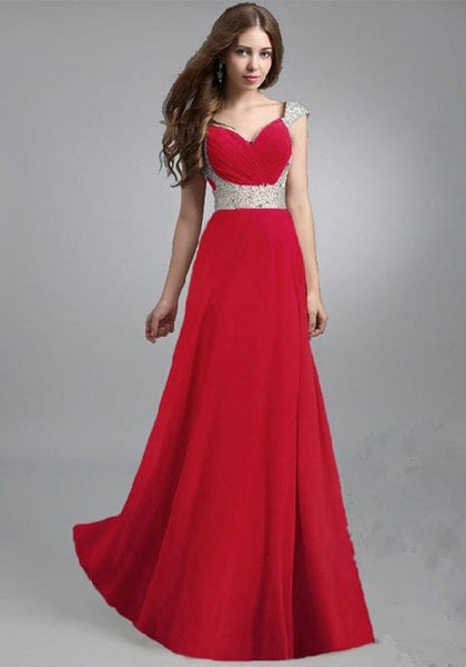 Casual Red Patchwork Sequin Bandeau Pleated Elegant Maxi Dress