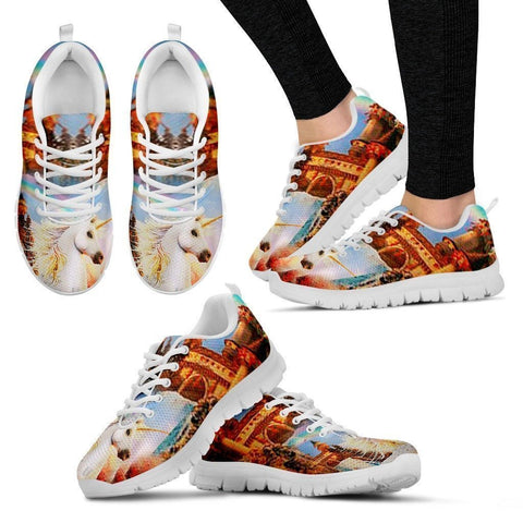 'Freedom Unicorn' Running Shoes (Men/Women)-Free Shipping-Paww-Printz-Merchandise