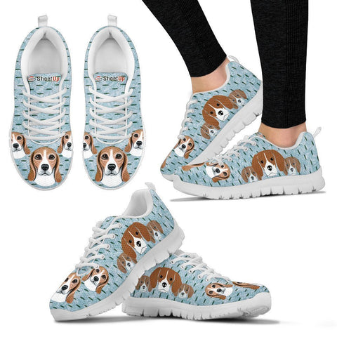 Amazing Beagle Dog-Women's Running Shoes-Free Shipping-Paww-Printz-Merchandise