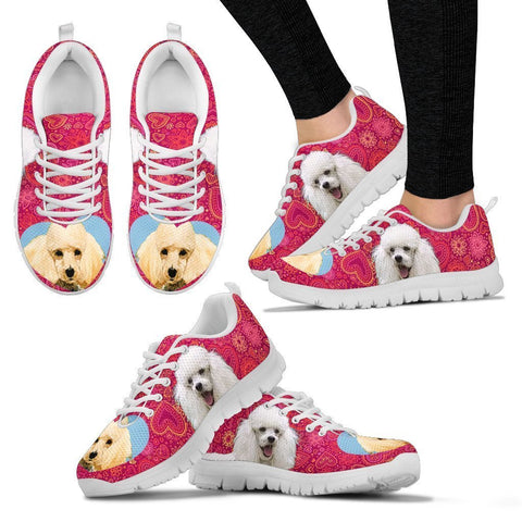 Valentine's Day Special-Cute Toy Poodle Dog Print Running Shoes For Women-Free Shipping-Paww-Printz-Merchandise