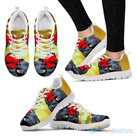 Gang-Gang Cockatoo Parrot Running Shoes For Women-Free Shipping-Paww-Printz-Merchandise