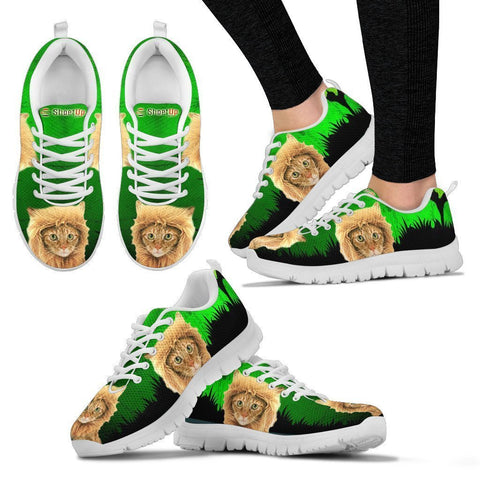 Bengal Cat (Halloween) Print-Running Shoes For Women-Free Shipping-Paww-Printz-Merchandise