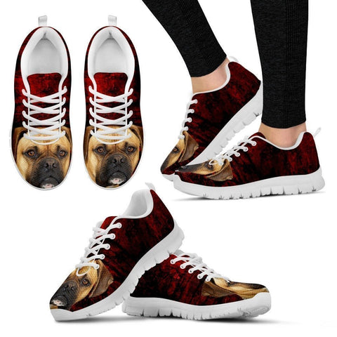 Boxer-Dog Running Shoes For Women-Free Shipping Limited Edition-Paww-Printz-Merchandise