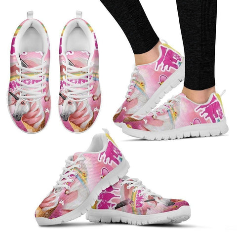 'Creamy' Unicorn Running Shoes(Men/Women)-3D Print-Free Shipping-Paww-Printz-Merchandise