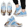 Akita Dog Running Shoes For Men-Free Shipping-Paww-Printz-Merchandise